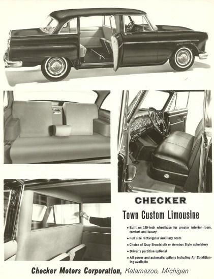 1965 checker limousine