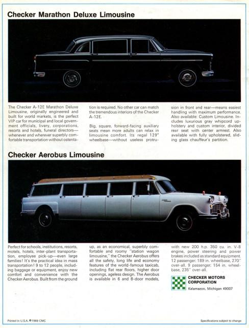 1969 checker 3