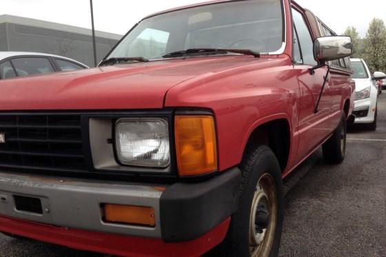 1986 Toyota truck h