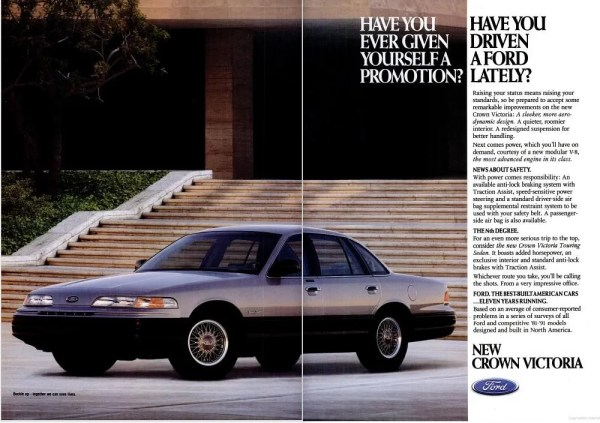 1992 Ford CrownVic TouringSedan Ad