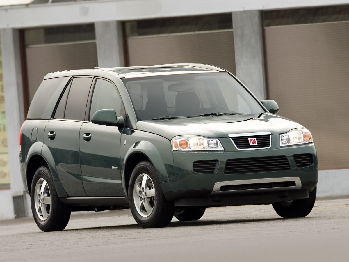 Curbside Classic 2002 Saturn Vue Just Enough Too Late Tune Up 2006 Green Line Hybrid 006 6366