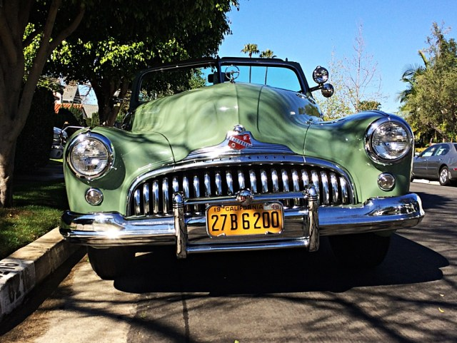 Buick super front wide