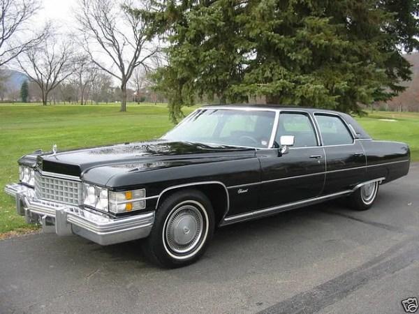 Cadillac 1974 talisman blk