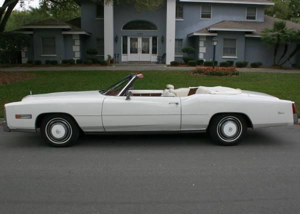 Cadillac 1976 eldo conv