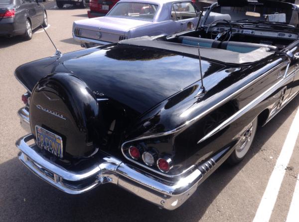 Chevrolet 1958 Impala conv rq
