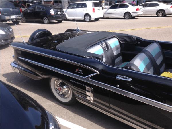 Chevrolet 1958 Impala conv seats