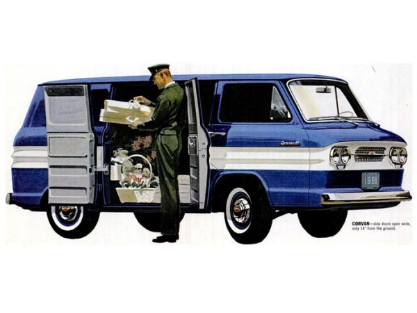 Corvair 1961 Corvan advertisement