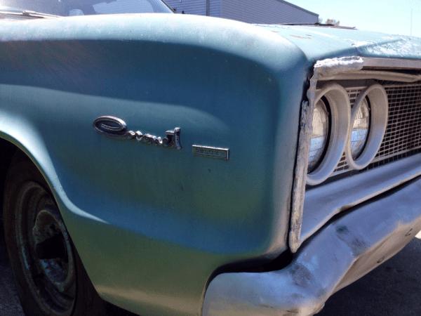 Dodge 1966 coronet 2 dr ff