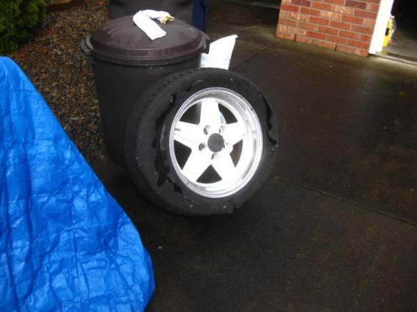Flat tire 1-001