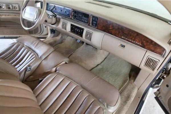 buick roadmaster 1993 interior