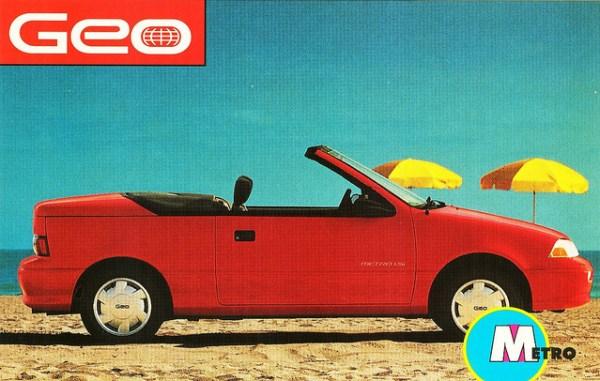 geo metro convertible