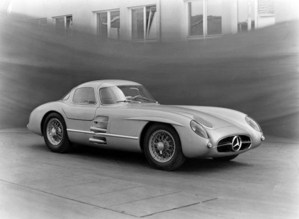 mb typ 300 SLR racing prototype developed by Rudolf Uhlenhaut 1