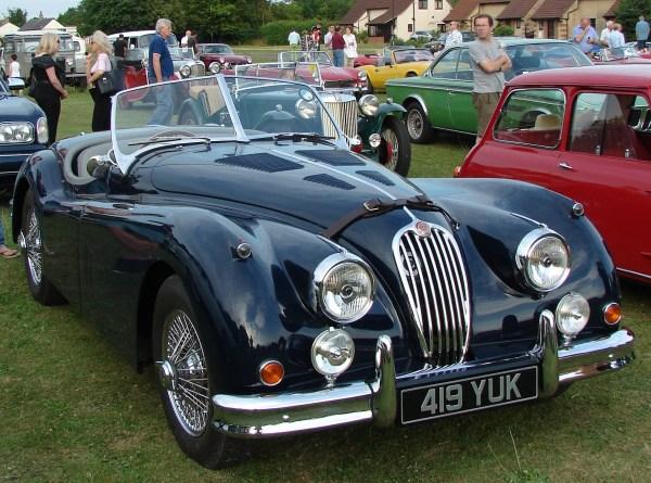 1955 Jaguarxk140dhc
