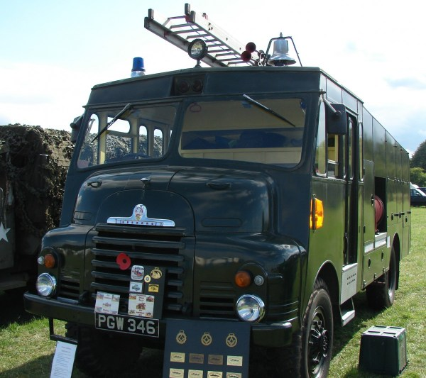 1956 Bedford RLHZ Self Propelled Pump .10