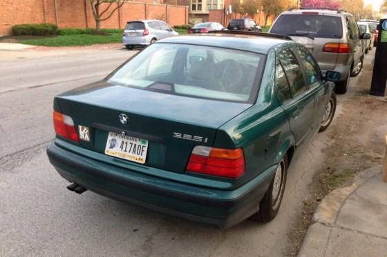 1992-95 BMW 325i d