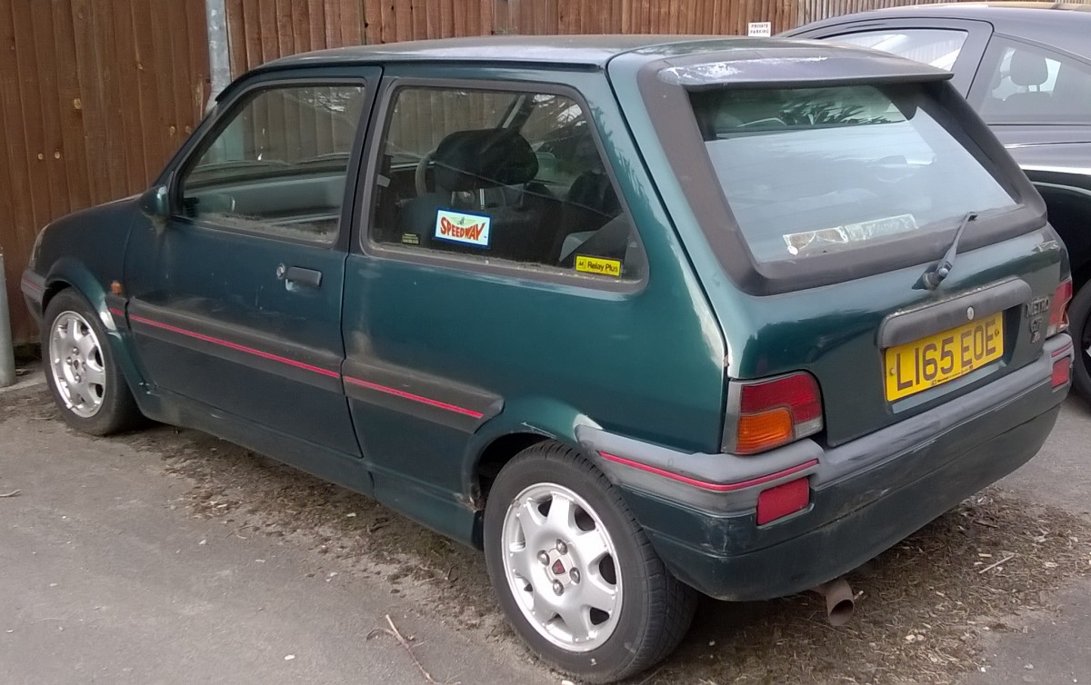 Curbside Classic 1993 Rover Metro Gti 16v A British Car To Beat