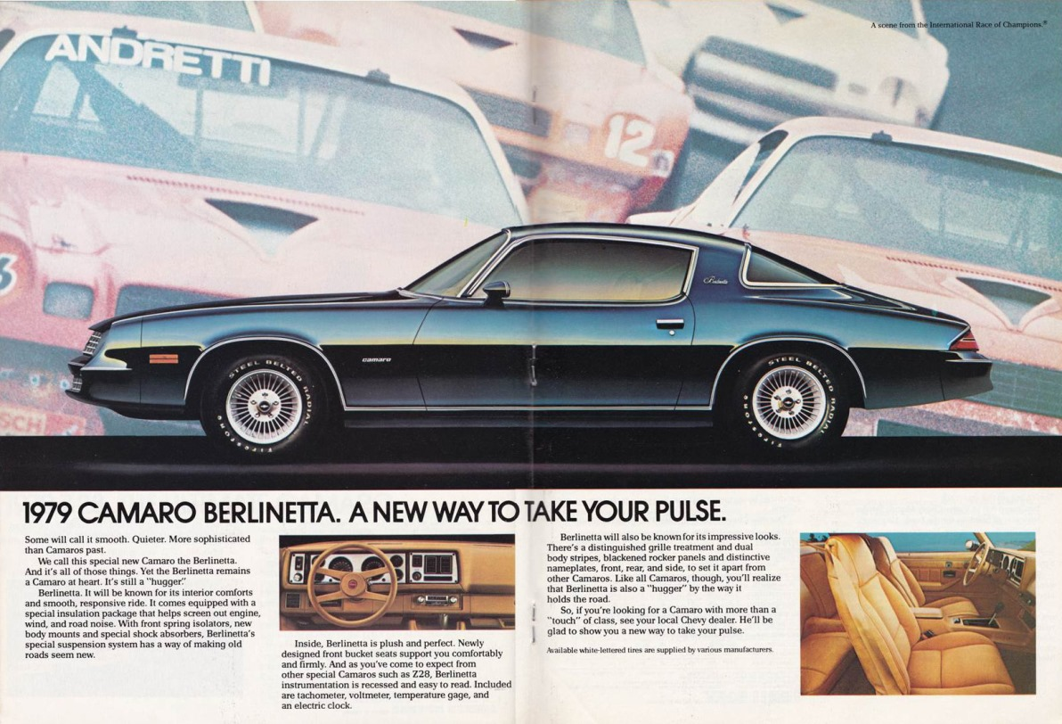 Curbside Classic 1983 Chevrolet Camaro Berlinetta The Gold 1978 Tach Wiring Diagram Ad 1979