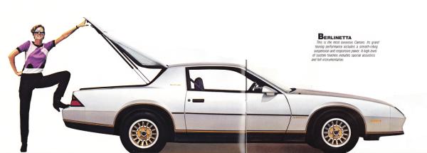 Brochure 1982 Berlinetta 1