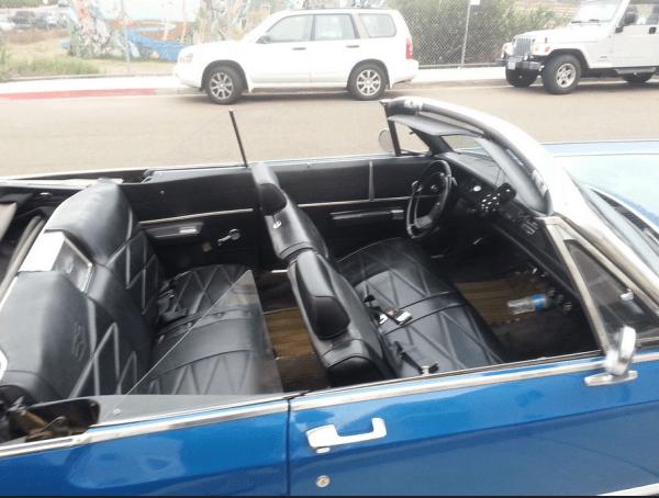 Chrysler 1969 Newport conv int