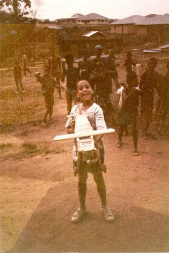 Joe Dennis in Liberia 1983-84