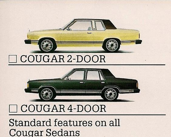 Mercury 1981 cougar brochure 3