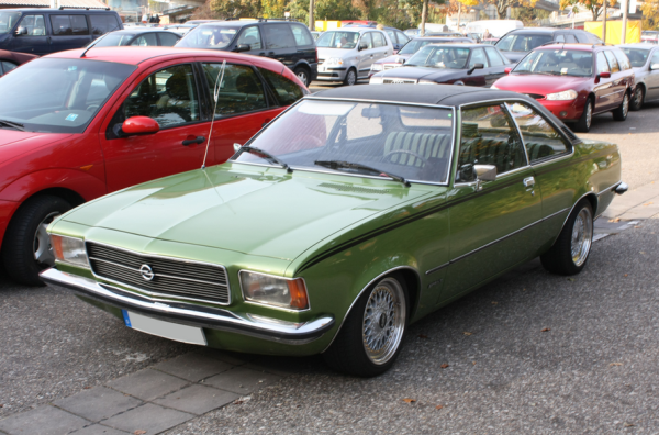 Opel rekord d coupe wiki