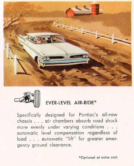 Pontiac 1959 air ride
