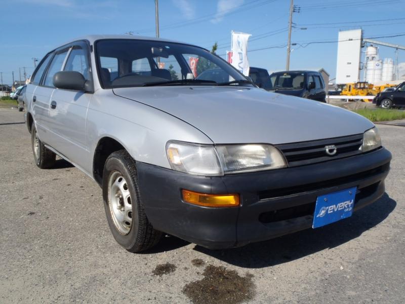 Curbside Classic: Toyota Corolla E100 – Saito's Mini-Lexus