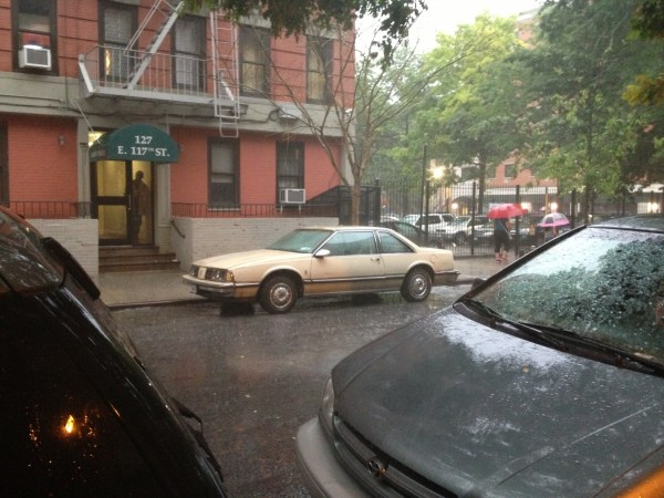 oldsmobile delta 88 rain