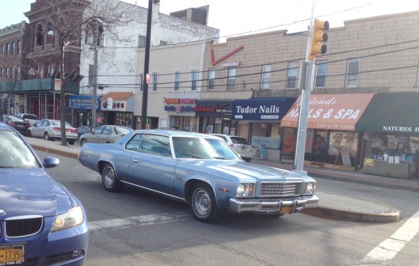 plymouth gran fury - front
