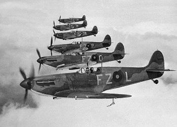 spitfire flight