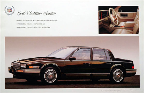 1986 cadillac seville