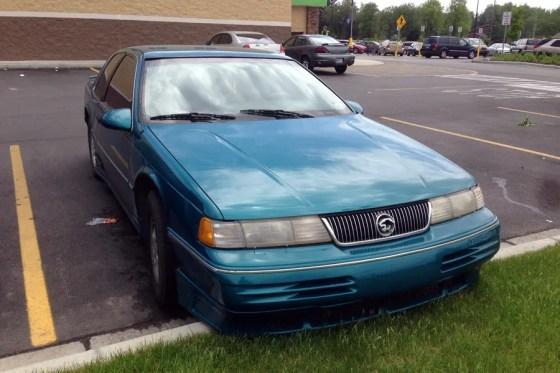 1991-93 Mercury Cougar c