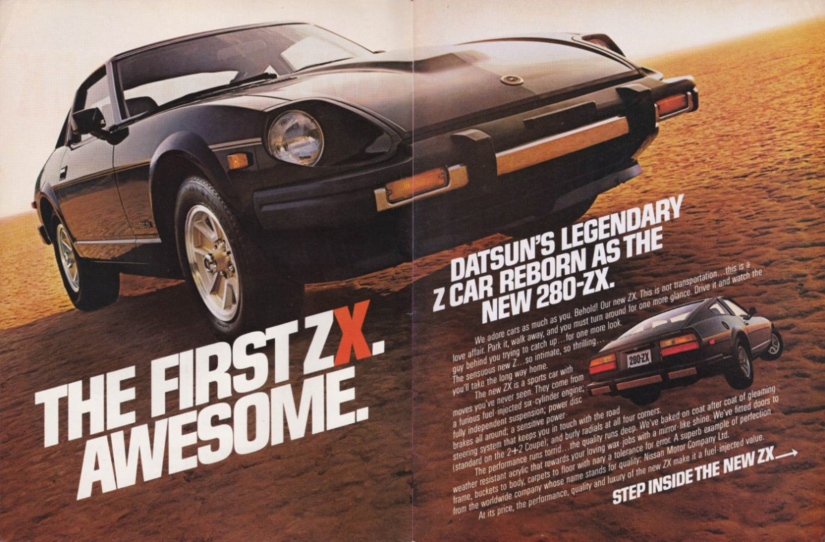 Curbside Classic: 1985 Nissan 300 ZX Turbo – Your Midlife Crisis