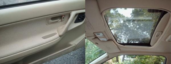1991 Integra interior features
