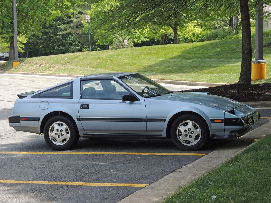 Curbside Classic: 1985 Nissan 300 ZX Turbo – Your Midlife Crisis ...