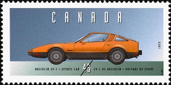 bricklin stamp