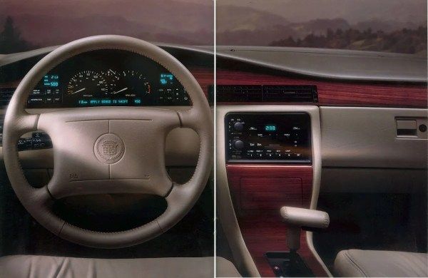cadillac seville sts 1994 interior