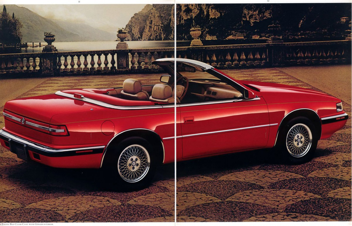 Curbside classic 1989 chrysler s tc by maserati the chairman has gone krazy