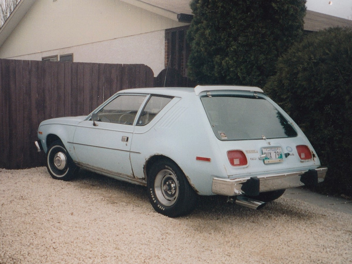 Coal 1977 amc gremlin very easy to find in a parking lot sciox Image collections