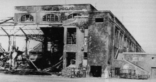 Mercedes Sindelfingen plant_1945