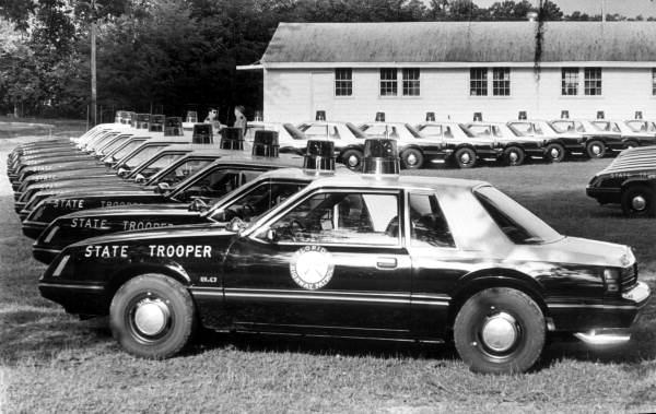 Mustang Florida police