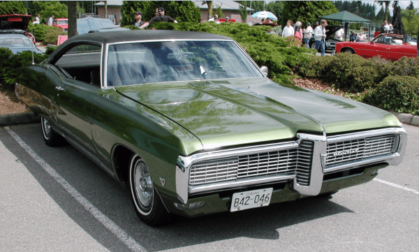 Pontiac 1968 Grand Parissienne 396