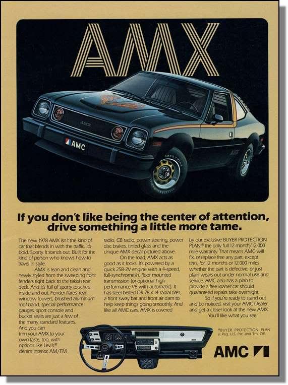 amc amx 1978 ad