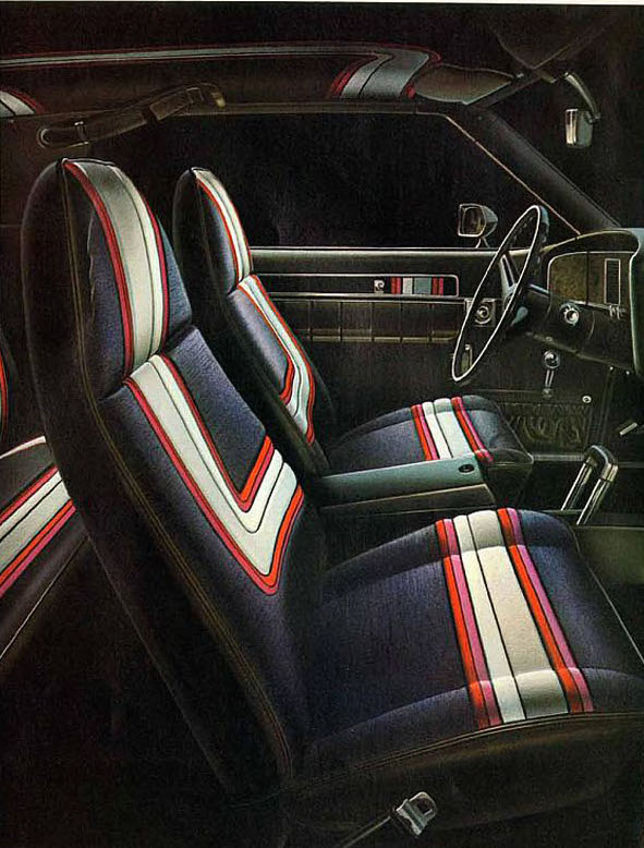 amc javelin interior pierre cardin