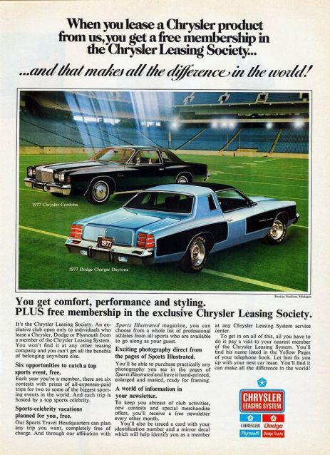 1977 chrysler cordoba dodge charger
