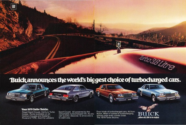 1979 buick turbocharging ad