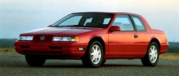 1989 mercury cougar xr7