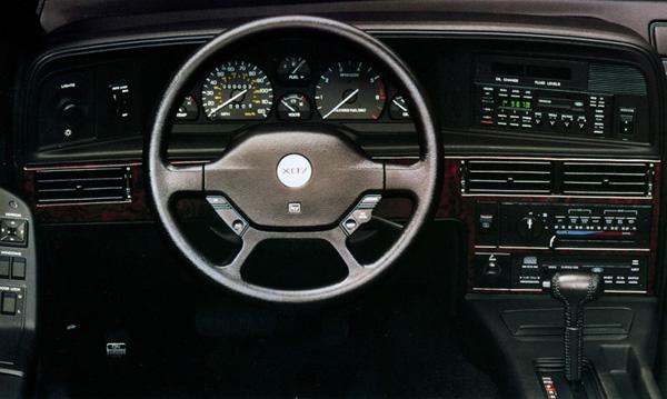 1990 mercury cougar xr7 interior