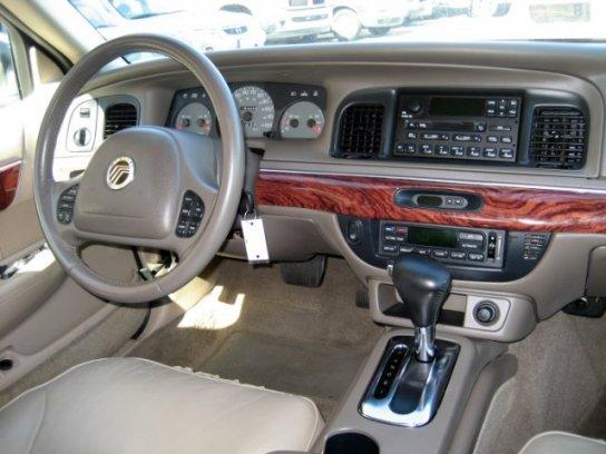 2002 mercury grand marquis lse interior
